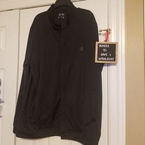 Adidas Mens XL Black Jacket